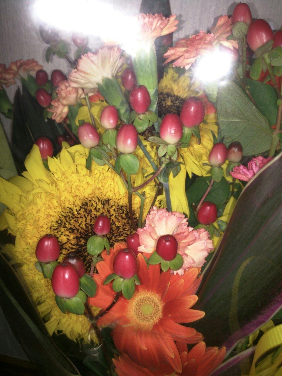 キレイな花束